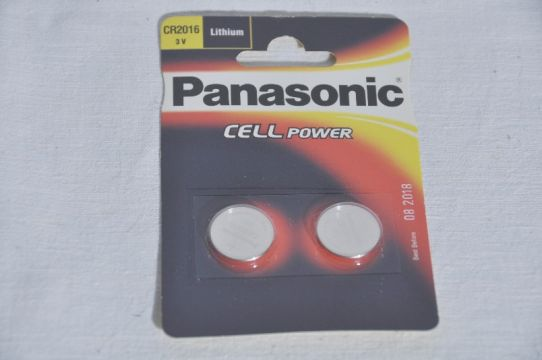 Batterie Panasonic Cell Power CR2016